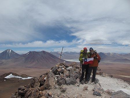 Cumbre del cerro Toco. Foto: Sebastián Álvaro