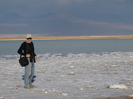 Laguna en el Salar de Atacama. Foto: Sebastián Álvaro