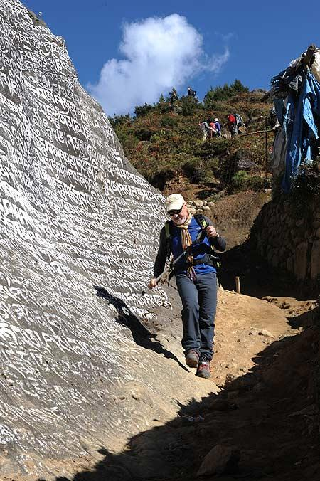 Trekkings por el del valle del Khumbu. Foto: Sebastián Álvaro