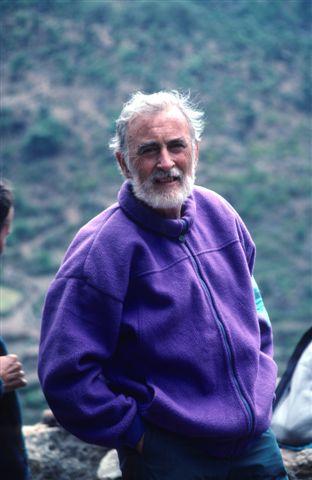Eduardo es uno de esos escasos sabios humanistas que hizo de la naturaleza su cuarto de estudio. Foto: Sebastián Álvaro