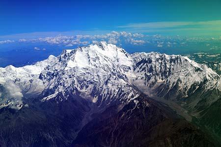 Sobrevolando el Nanga Parbat
