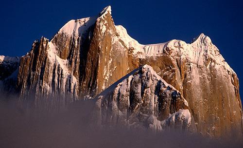 La gran Torre del Trango, en el glaciar de Baltoro (Karakorum). Foto: Sebastián Álvaro