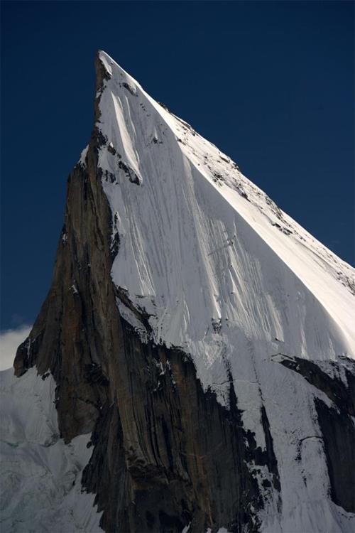 El Laila Peak, la montaña más hermosa del Karakorum. Foto: Sebastián Álvaro
